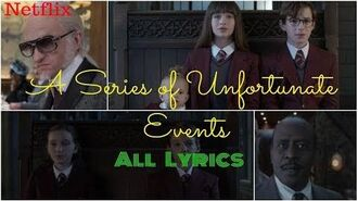"Lyrics for Season 2 ""Look Away"" in A Series of Unfortunate Events"