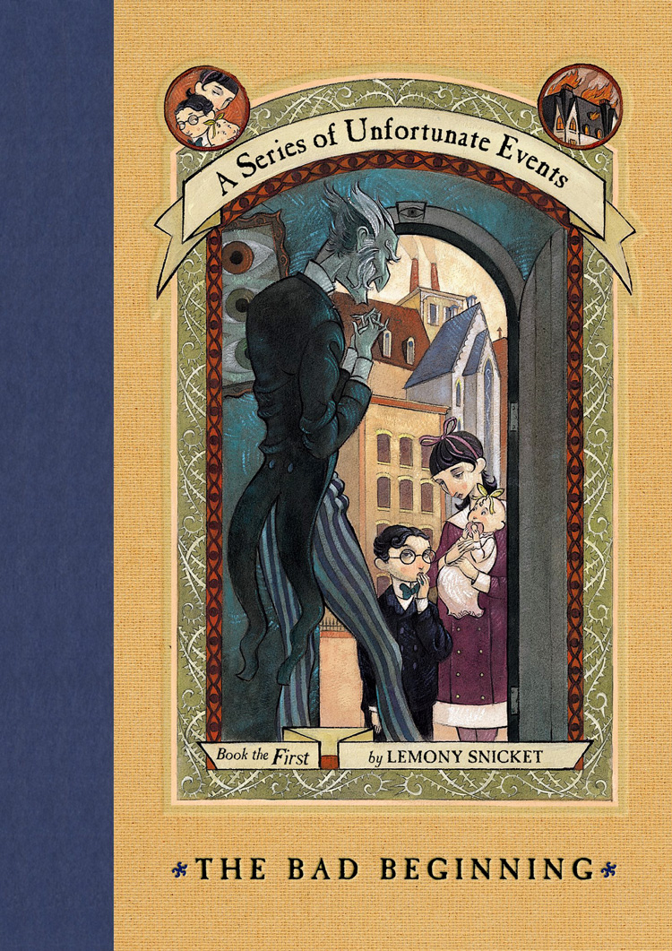 Risultati immagini per a series of unfortunate events cover book