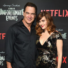 Patrick Warburton and Sara Rue