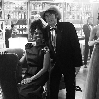 Josephine and Ike at a V.F.D. party.