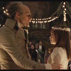 Olaf marrying Violet.