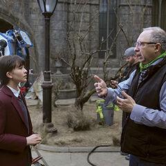Barry directing Malina