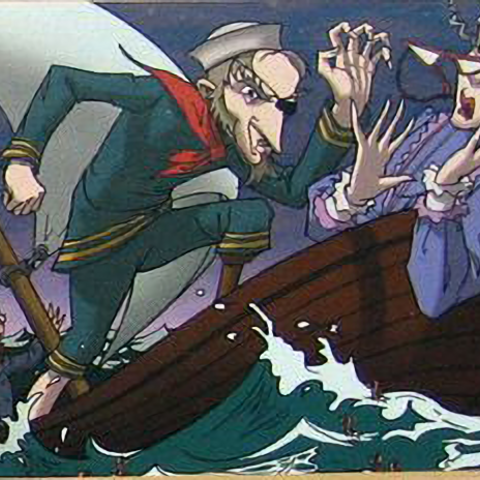 Olaf murdering Josephine.