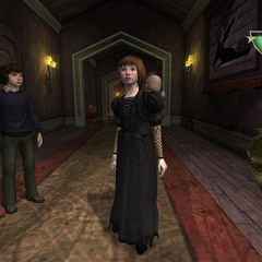 Violet in the video game.
