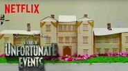 A Series of Unfortunate Events Netflix Kitchen Baudelaire's Flaming Mansion Netflix