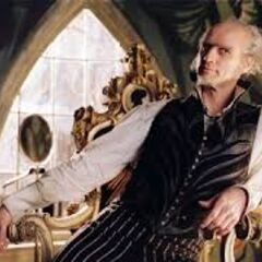 Count Olaf in his house.