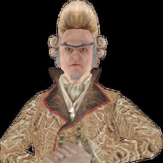 Count Olaf's wedding model.