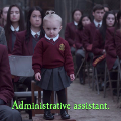 Administrative assistant.