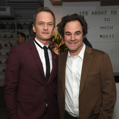 Neil Patrick Harris and Roger Bart