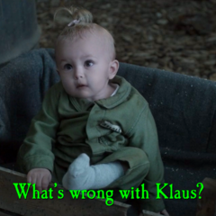 What's wrong with Klaus?