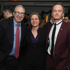 Barry Sonnenfeld, Cindy Holland, and Neil Patrick Harris