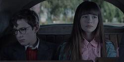 Orphans in car