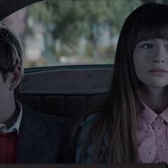 Klaus and Violet.
