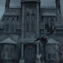 Count Olaf's house in the TV series