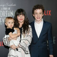 Presley, Malina, and Louis at the Season 1 premiere