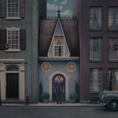Poe's house.