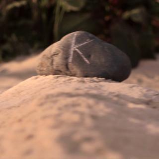 Kit's grave.