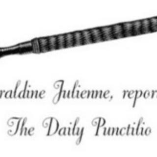 Geraldina Julienne's header.