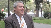 Daniel Handler at the LA Times Festival of Books