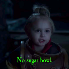 No sugar bowl.