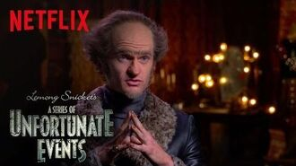 Lemony Snicket's A Series of Unfortunate Events An Unfortunate Actor on Acting Netflix-0