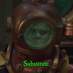 Substitute.