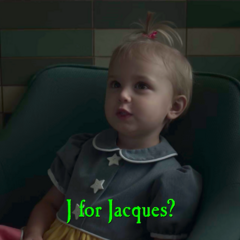 J for Jacques?