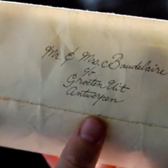 Envelope of the Letter That Never Came.