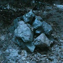 A complimentary pile of rocks provided at no cost