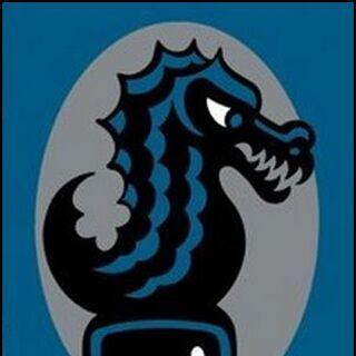 Mascot - the Bombinating Beast.