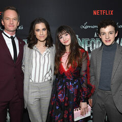 Neil Patrick Harris, Allison, Malina, and Louis