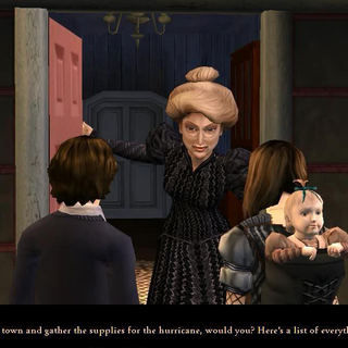 Aunt Josephine in the PC version.