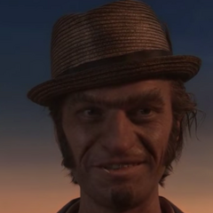Detective Dupin without his sunglasses.