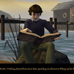 Klaus at Briny Beach (PC version).