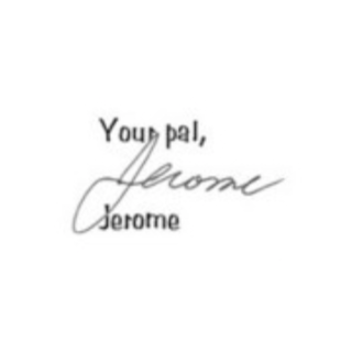 Jerome Squalor's signature.
