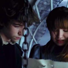 Reading Josephine's note.