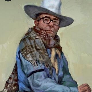 Ike's portrait.