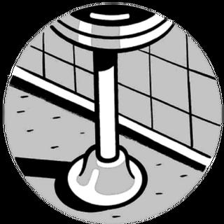 Counter stool.