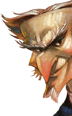 Count Olaf Tattoo Eye His Ankle