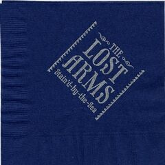 A napkin from The Lost Arms