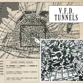 VFD Tunnel Map.