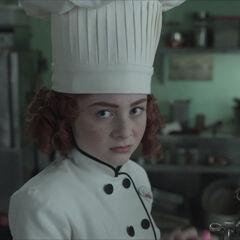 Chef Carmelita.