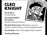 Cleo Knight