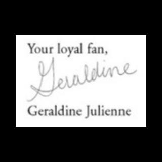 Geraldine Julienne's signature.