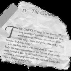 E.B. White, <i>Charlotte's Web</i> (Harper Trophy, 1999), p.113