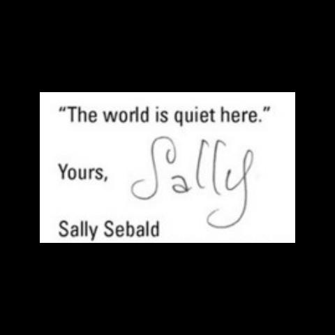 Her signature.
