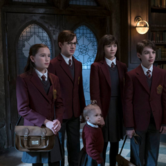 The Baudelaires and the Quagmires.