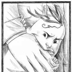 Sunny Bites Dr. Lucafont's fake hand]]