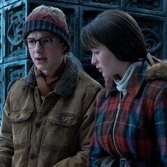 Violet and Klaus.
