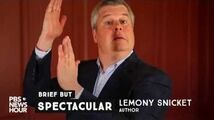 How Lemony Snicket channels his bewilderment into words